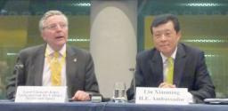 Lord Tim Clement-Jones and Ambassador Liu Xiao Ming