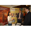 Nick Clegg visits stall at Spring Conference 2011 with Yeing-Lang and Roger Croucher