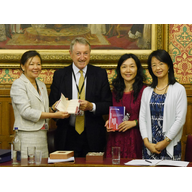E MBA visit from Shanghai Univ hosted by Lord Wrigglesworth & Merlene Emerson 15.9.15