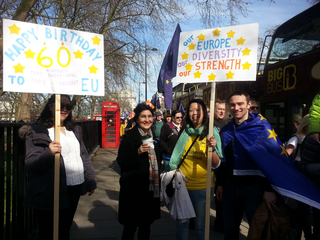 CLD march for Europe 25 March 2017