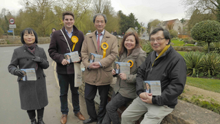 CLD in Bibury with Cllr Tatyan Cheung