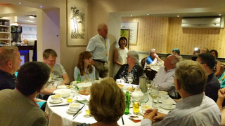 Chinese Libdem 9th birthday dinner 21.9.15