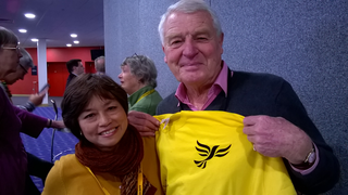 Marguerita Morton and Paddy Ashdown