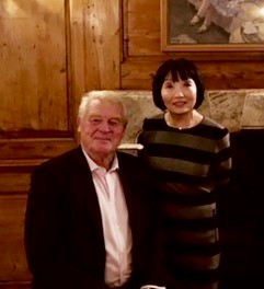 Paddy Ashdown and Linda Chung