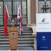 Head of Chevening Leadership delegation