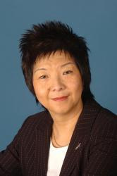 Anna Lo, candidate for the Alliance Party to Wesminster parliament.