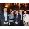 At CT Tang OBE's dinner celebrations