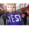 Fairer Votes launch in Chinatown Feb 2011