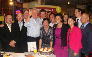 Chinese Liberal Democrats 6th b'day party
