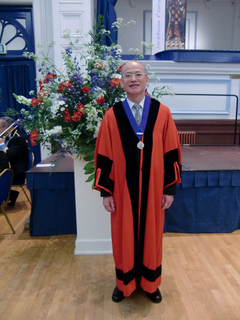 Deputy Mayor Sam Li of Lewes
