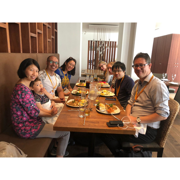 Chinese LibDems meet for lunch during Lib Dem Conference