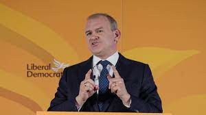 Ed Davey MP at conference